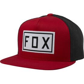 Fox Drivetrain Snapback Hat Youth chili